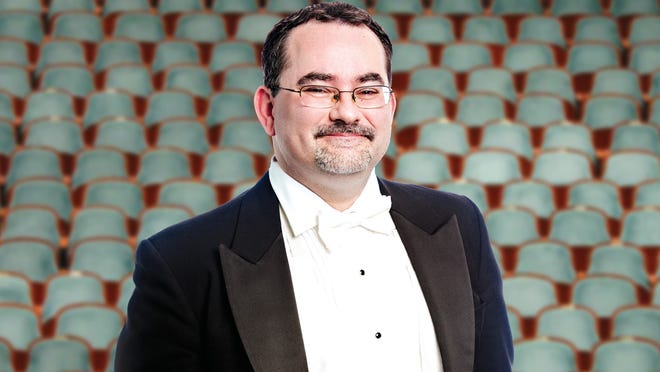 """Kevin Reid, principal horn with the Jacksonville Symphony, grabs the spotlight in """"Britten and Schumann."""""""