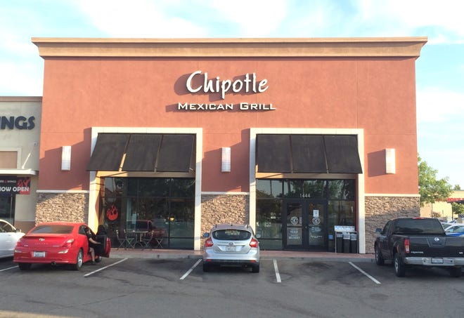 A Chipotle Mexican Grill restaurant in Manteca, California.