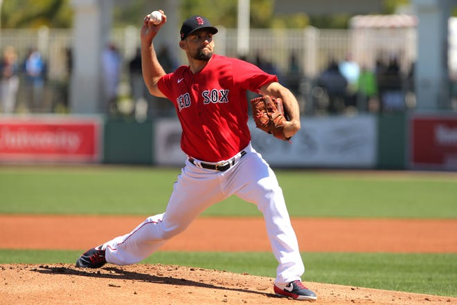 Nathan Eovaldi hopes to throw at least 150 innings this season for the Red Sox.