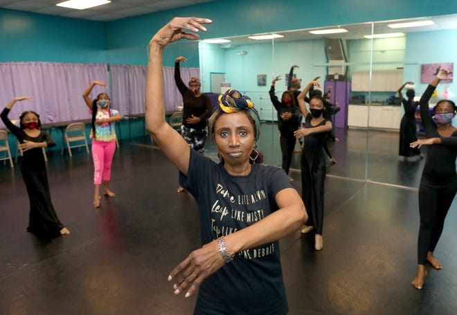 Elois Waters, a longtime local choreographer and dance instructor, shown Saturday at her studio in Gainesville. Waters ran an after school dance program with Alachua County Public Schools for more than 20 years.
