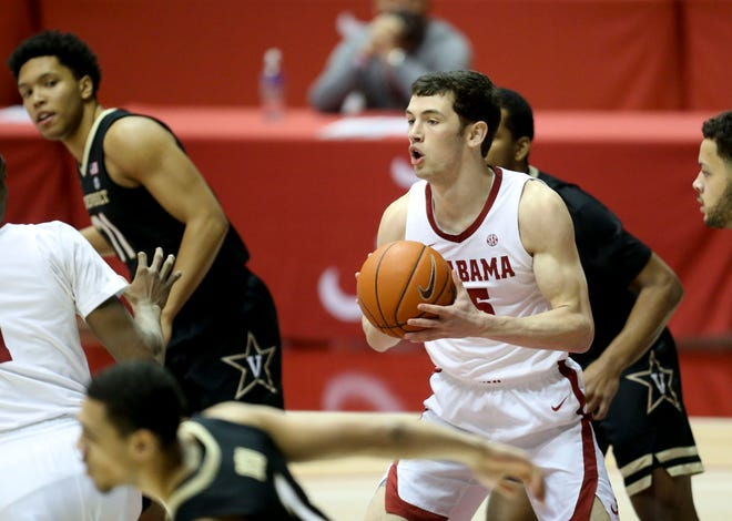 Alabama forward Tyler Barnes nearly overslept on the day of the Crimson Tide's open tryout in 2017. But he made the tryout, made the team, and has enjoyed several magical moments.