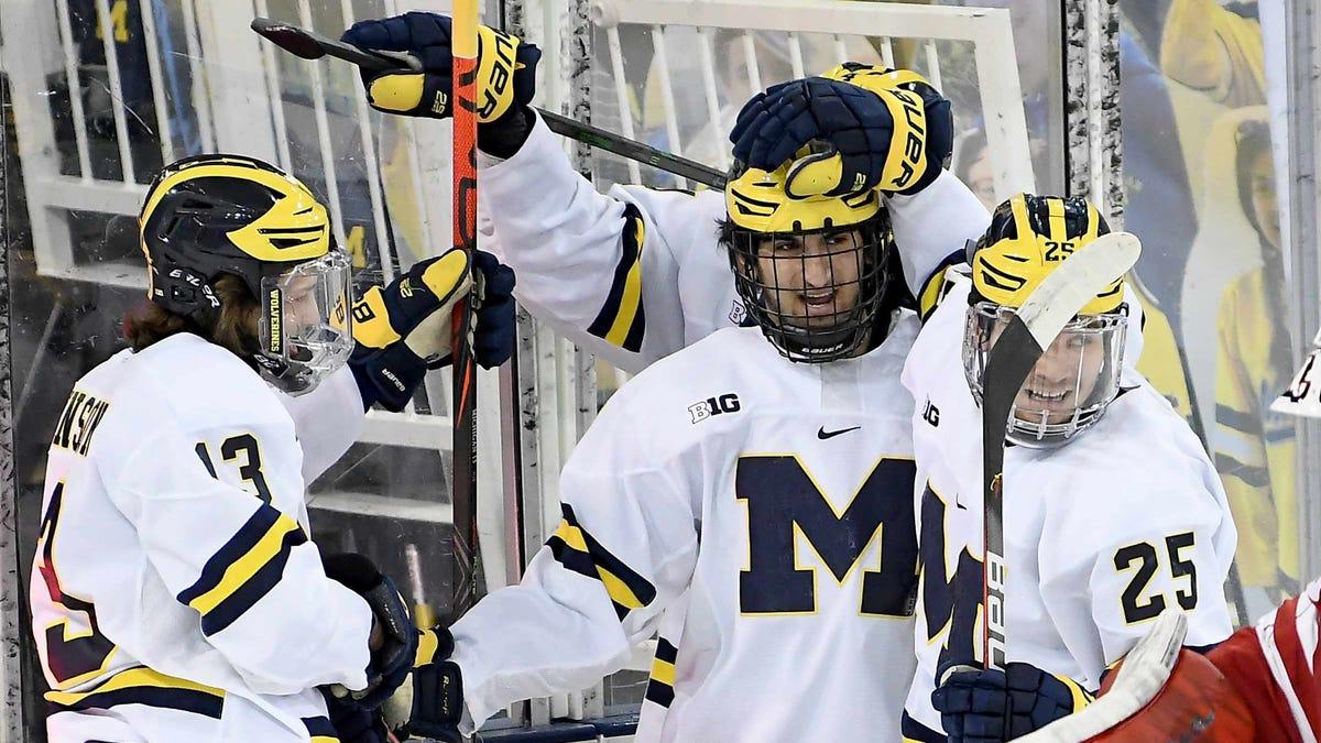 Michigan's freshmen trio heralds new ice age in nearly century-old Yost 2