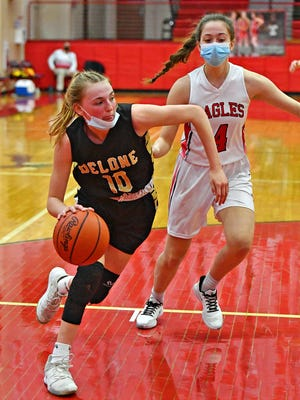 Delone Catholic's Abigael Vingsen is a member of the Squirettes talented and experienced junior class.