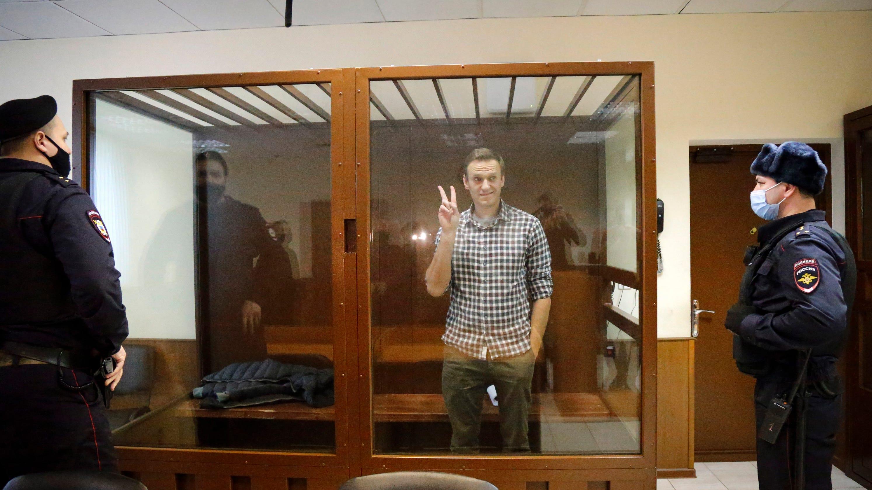 Ahead of Biden meeting, Putin won't guarantee opposition leader Alexei Navalny will leave prison alive