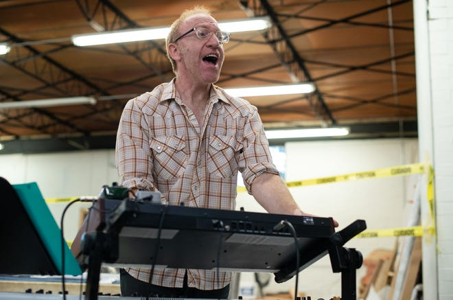 """Composer Justin Sherburn and his band Montopolis take part in the Long Center's """"Good Vibes Only"""" livestream series on Wednesday, Feb. 24."""
