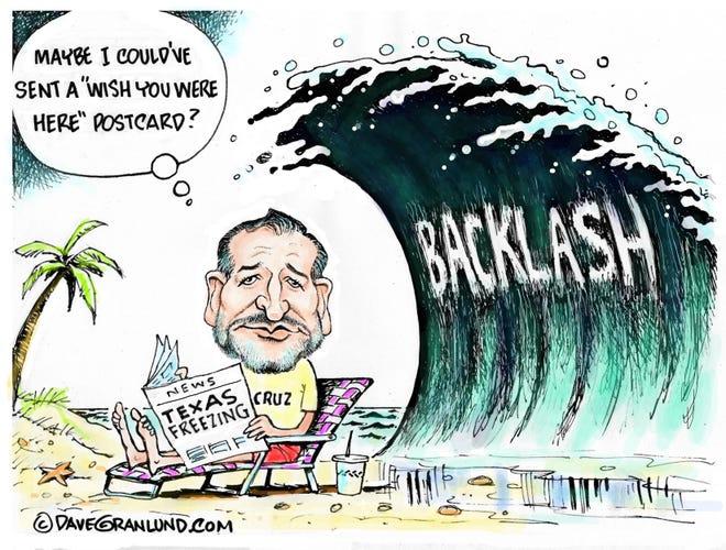 Today's editorial cartoon (Feb. 22, 2021)