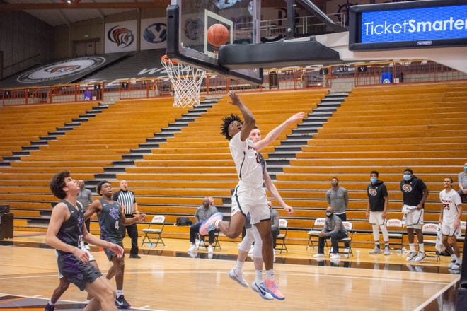 Pacific sophomore guard Jalen Brown scored a season-high 14 points in the Tigers' win at Portland.