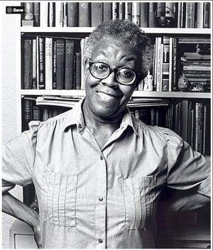 Gwendolyn Brooks was an American poet, author, and teacher. Her work often dealt with the personal celebrations and struggles of ordinary people in her community. She won the Pulitzer Prize for Poetry on May 1, 1950, for Annie Allen, making her the first African American to receive a Pulitzer Prize