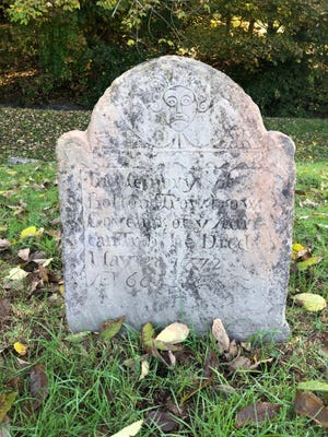 Boston Trowtrow served as the Black Governor of Norwich from 1770 to 1772. His grave is in the Norwichtown Colonial Burying Ground.