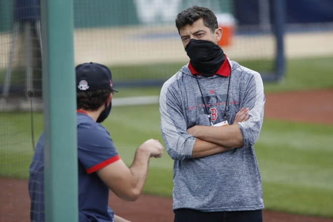 Red Sox chief baseball officer Chaim Bloom said he believes this year's team is better.