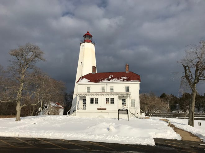 The Sandy Hook lighthouse at the Gateway National Recreation Area were Bruce Springsteen visited on Nov. 14, 2020.