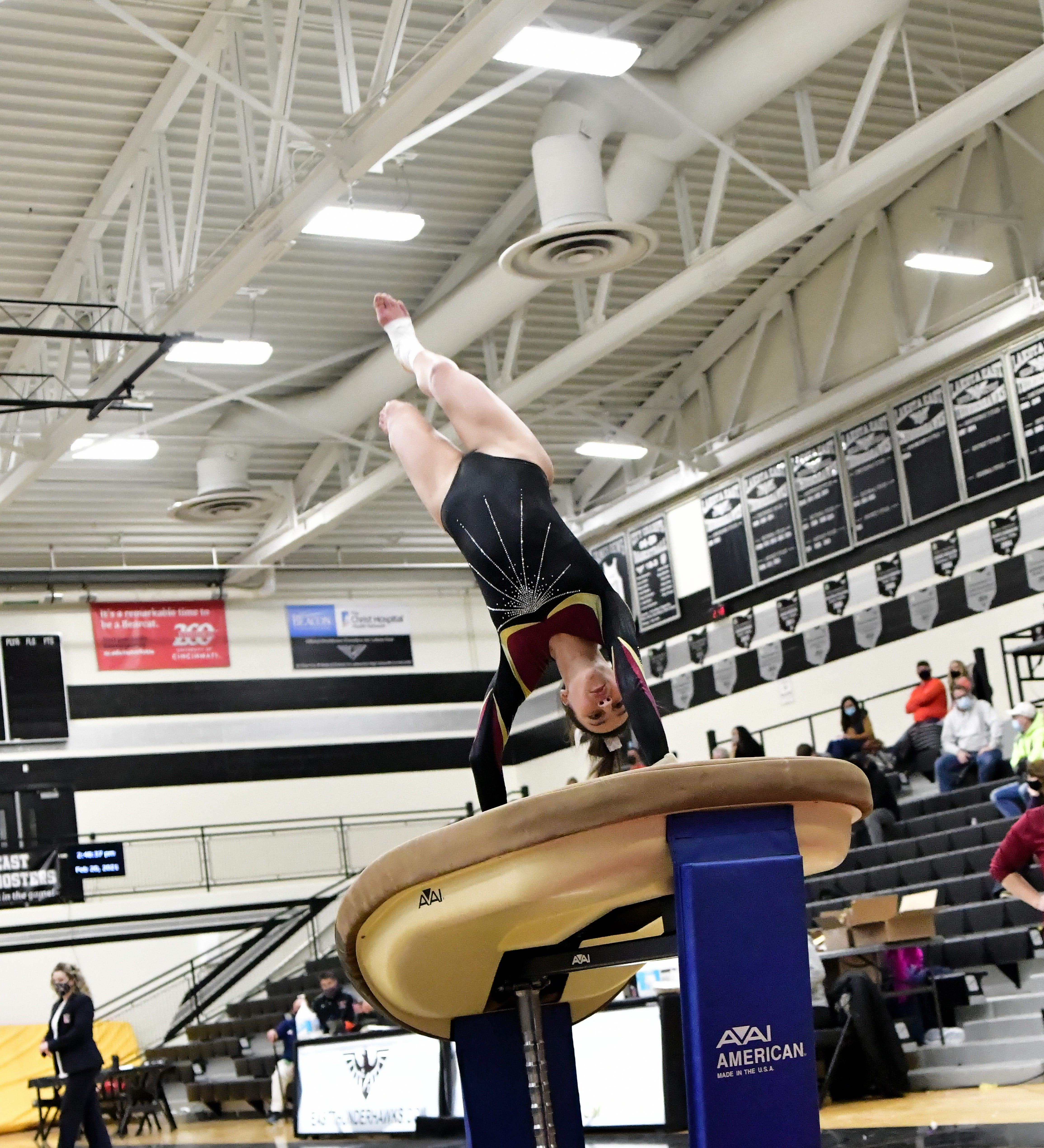 WATCH: Anderson, Turpin gymnastics teams will represent Southwest Ohio at state meet