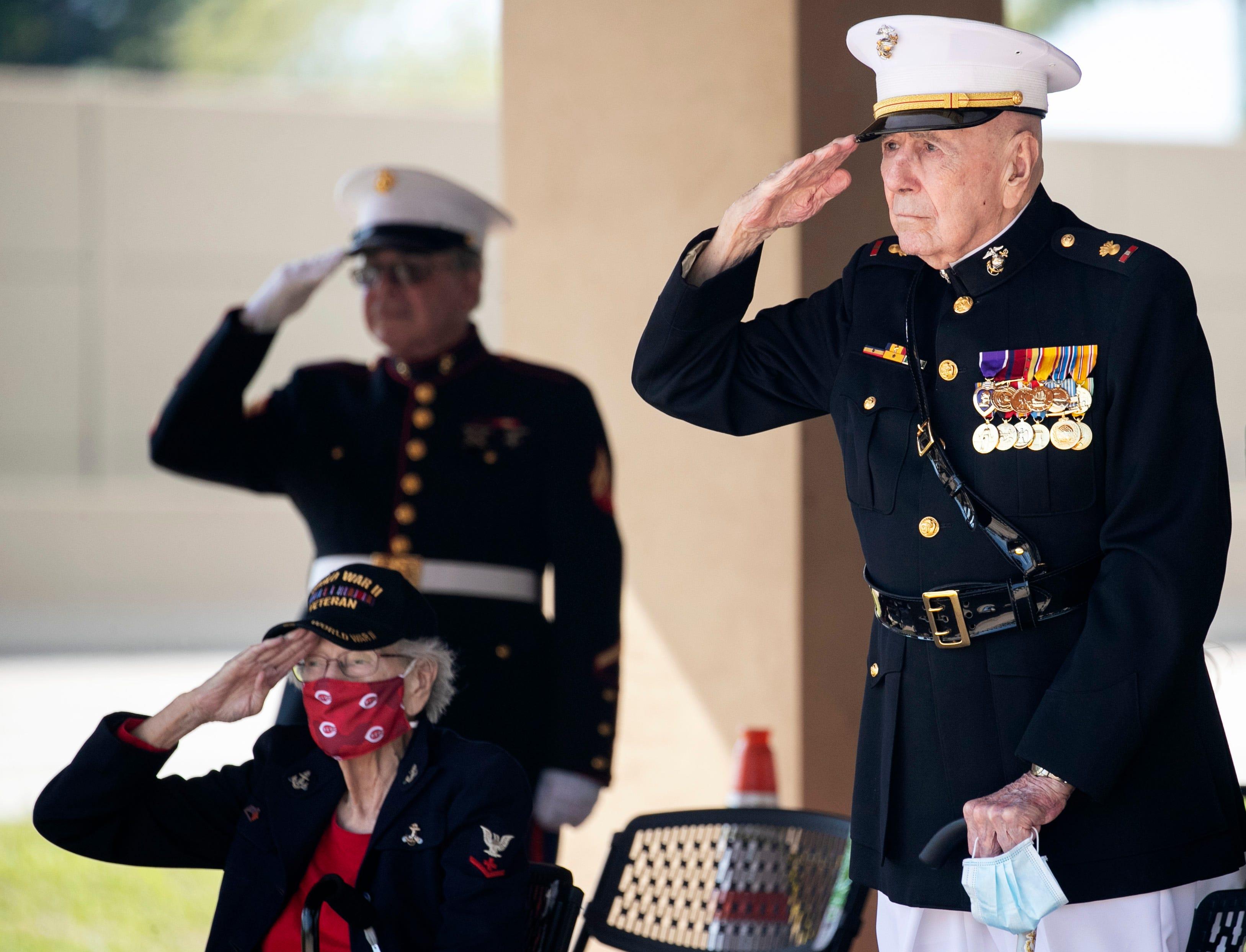 Cape Coral marks 76 years since Iwo Jima flag-raising with fewer living World War II vets 3