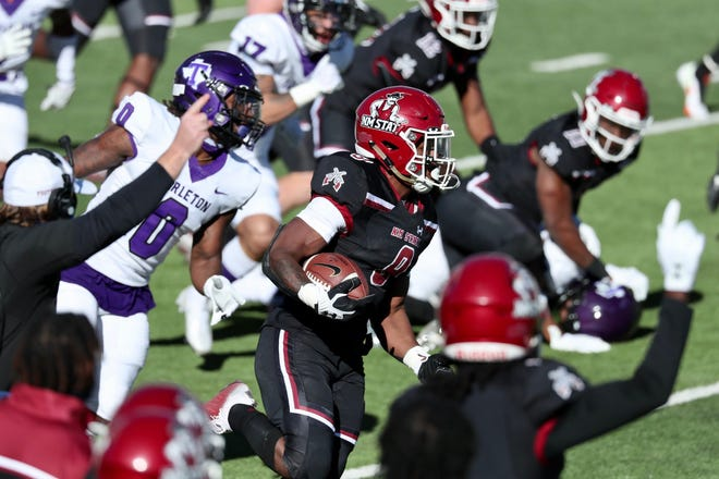 New Mexico State played its first spring football game against Tarleton State on Sunday in El Paso.