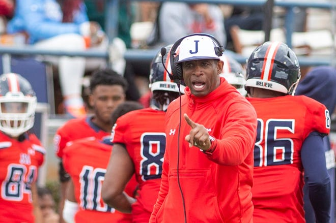Jackson State football coach Deion Sanders played a role in SWAC landing Pepsi deal as part of its racial equality initiative.