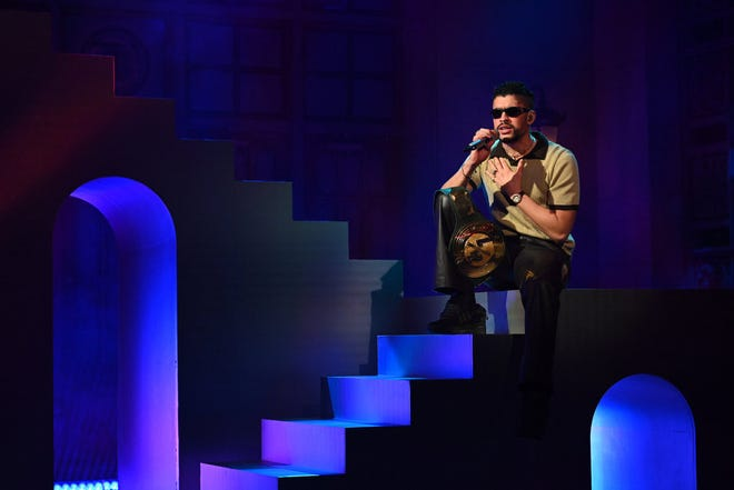 Bad Bunny, while one of the biggest winners of the night, didn't attend the Latin American Music Awards on Thursday, April 15.