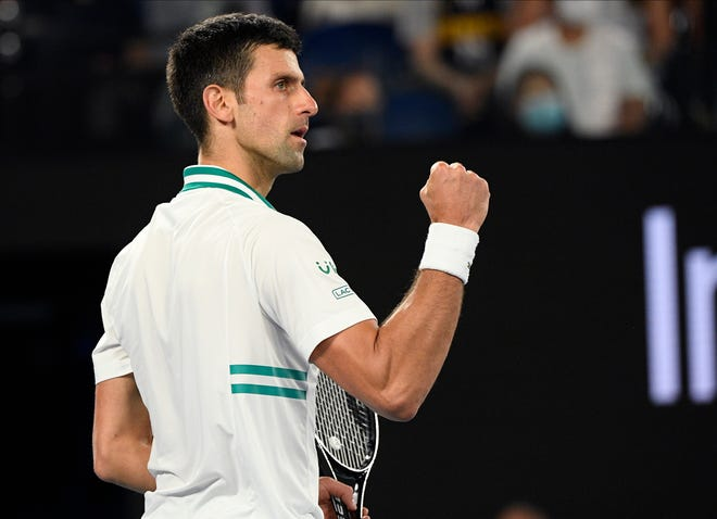 Novak Djokovic wasted little time in securing his ninth career Australian Open championship.