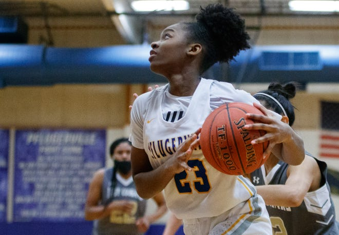 Pflugerville's Jordynn Watts and her teammates almost upset unbeaten Kingwood Park before falling 51-47 in the second round of the Class 5A girls basketball playoffs Saturday.
