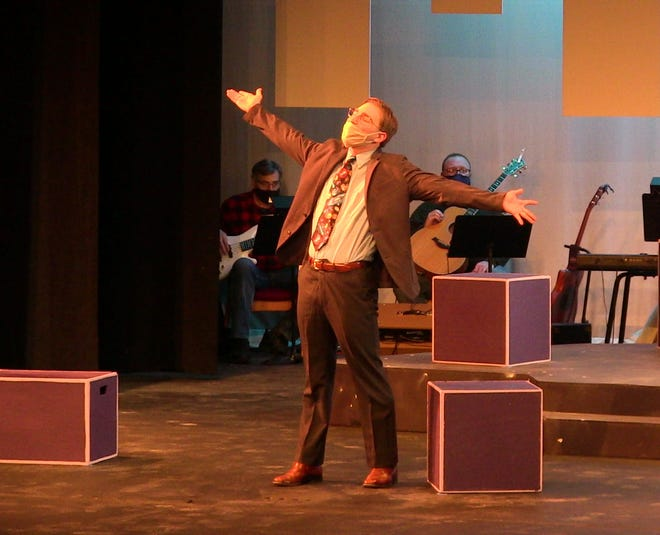 Ashland University freshman Tobin Grendzynski  of North Ridgeville is one of the members of the cast of AU Theatre's production of The Theory of Relativity
