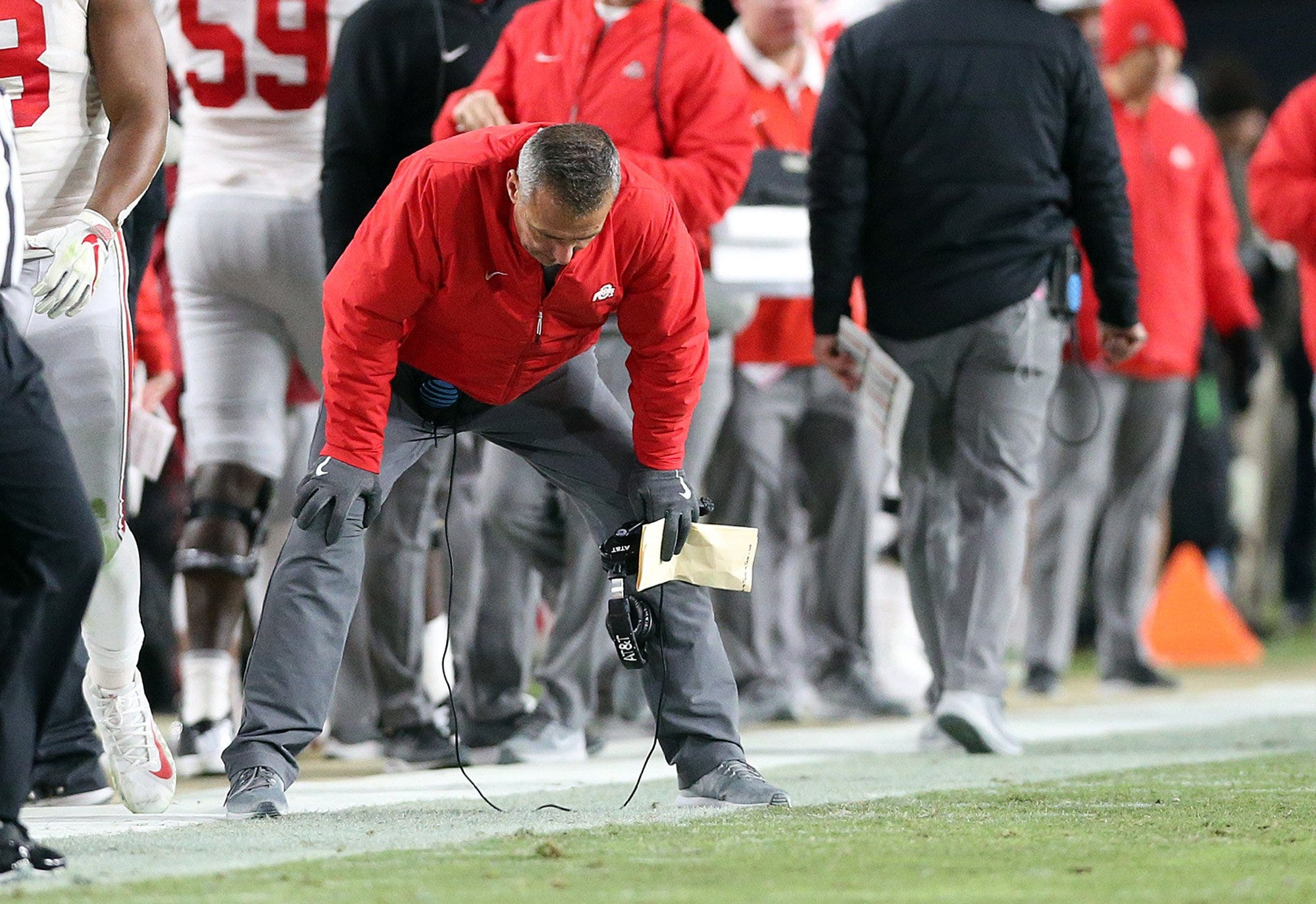 Urban Meyer could barely watch as Ohio State was steamrolled in a crushing 2018 defeat at Purdue.