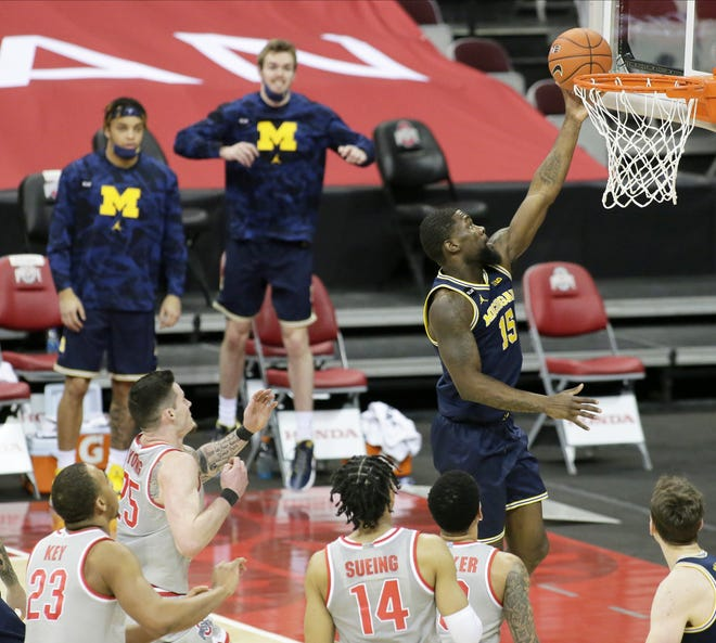 The 92 points Ohio State allowed in a loss to Michigan on Sunday were the most it has given up in the Chris Holtmann era and illustrated the need for OSU to improve its defense against the likes of guard Chaundee Brown.