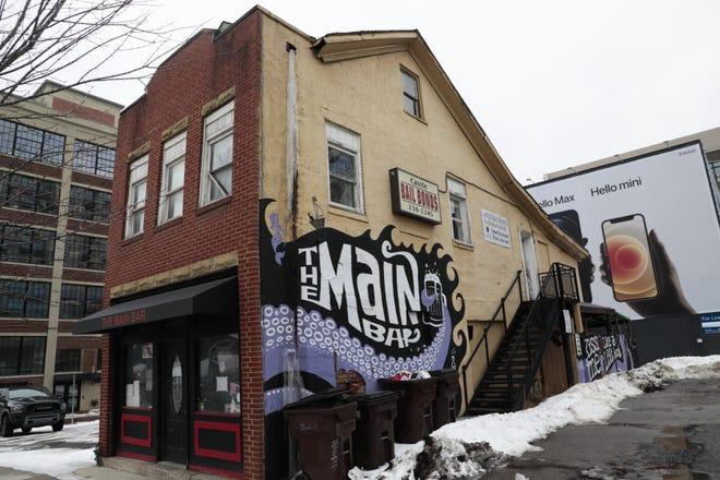Main Bar, 16 W. Main St., on Monday, Feb. 22, 2021 in Columbus, Ohio. The bar is closing its doors.