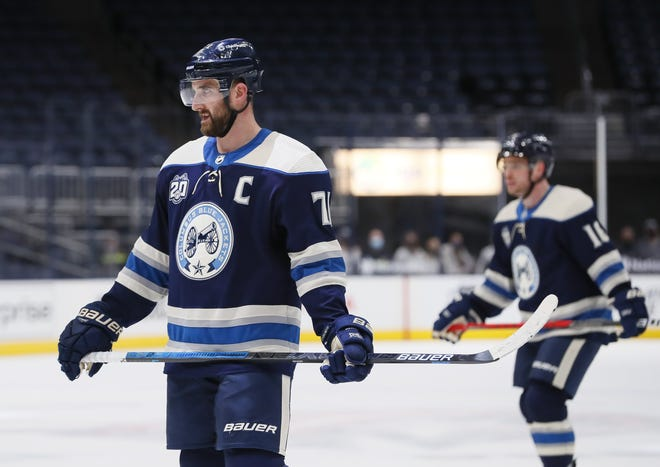 In this truncated, jam-packed NHL season thus far, it seems that every positive step taken by the Nick Foligno-captained Blue Jackets is followed by a dispiriting misstep.