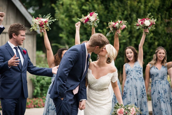 Nick and Meredith Helfferich were married Aug. 22, 2020.