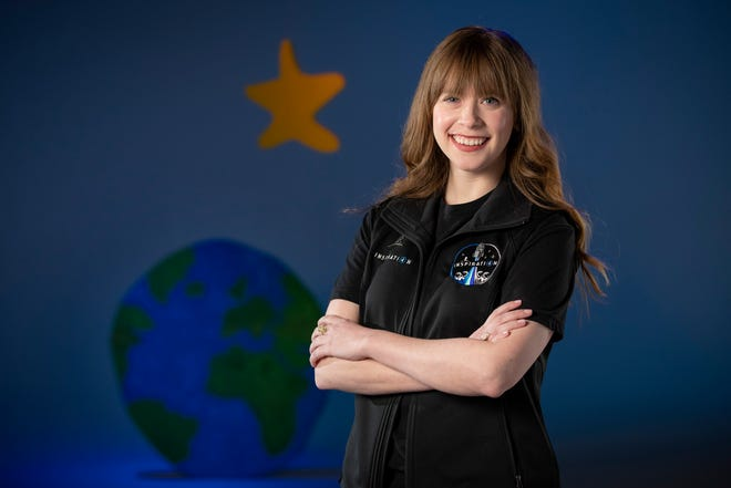 St. Jude cancer survivor Hayley Arceneaux will be part of the first all-civilian space flight, named Inspiration4.