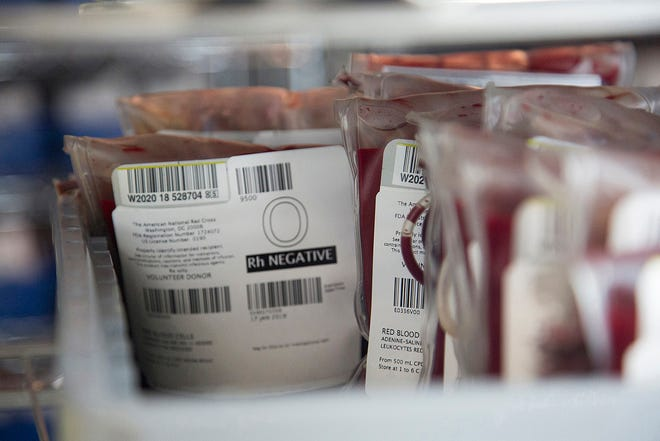 There were 15,000 uncollected donations due to canceled blood drives from the recent winter storm across the country.