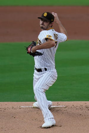 Former San Diego Padres starting pitcher Zach Davies was acquired by the Chicago Cubs in late December in a trade that sent Yu Darvish to Southern California.
