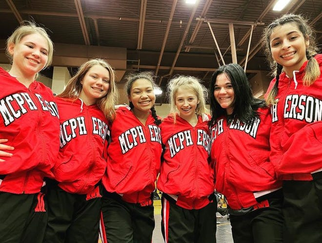 With six wrestlers qualified for the KSHSAA Girls Division II Sub-State 1 tournament, McPherson was in a strong position to start the day.