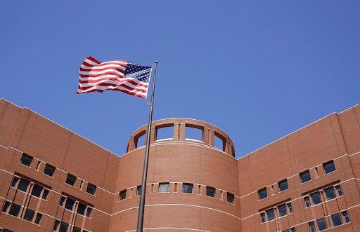 The John Joseph Moakley U.S. Courthouse in Boston.