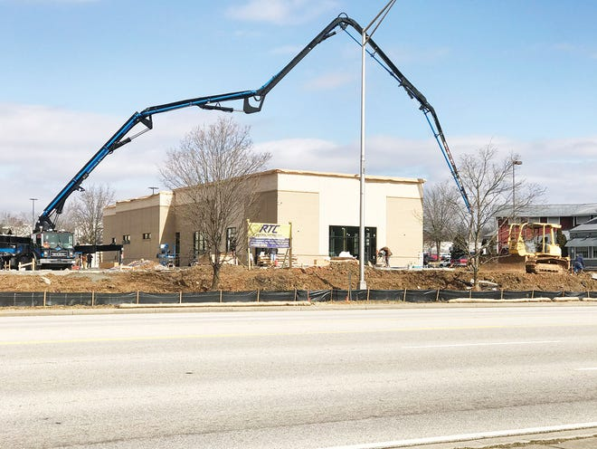 Workers continued to work on the new Chick-Fil-A fast food restaurant on South Illinois Avenue last Tuesday. A Chick-Fil-A corporate official said an April opening is planned. 'We look forward to serving the Oak Ridge community again soon,' Jess O'Neill Ferrell with the company's new restaurant public relations stated in an emailed response to the newspaper. More updates can be found at the Chick-Fil-A Oak Ridge Facebook page.