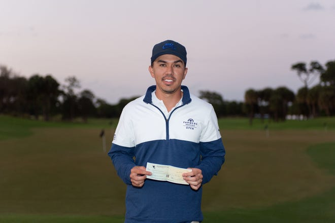 Jarred Garcia shot a 6-under 138 to capture the Black History Month Classic Sunday on the Dye Course at PGA Golf Club in Port St. Lucie.