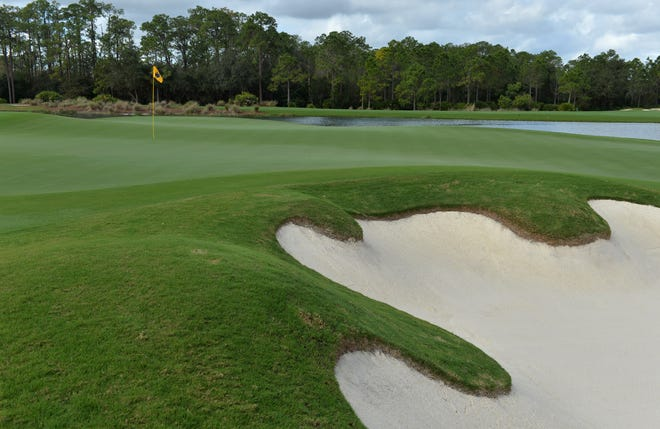 A view of the 18th green at The Concession.