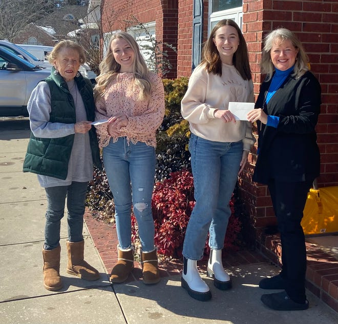 Shawnee Panhellenic issued two scholarships.