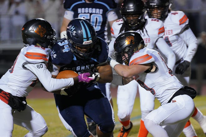 Hoggard and New Hanover will play their annual rivalry football game Friday in the 2021 spring debut for both teams.