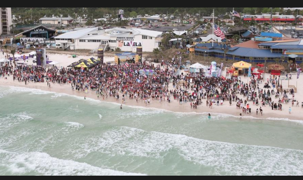 Panama City Beach Christmas Events 2021 Covid Panama City Beach Spring Break Special Event Crowds Limited