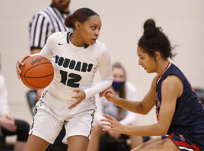 """Da-Miya Alderson averaged 5.7 rebounds as one of four senior leaders for Westland. """"This wasn't the senior season that they wanted, but they did a great job trying to keep spirits up, playing hard and encouraging one another,"""" coach Nina Napolitano said."""
