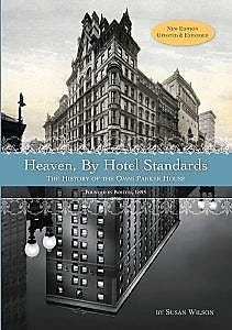 """""""Heaven, By Hotel Standards""""  (2019). Book cover."""