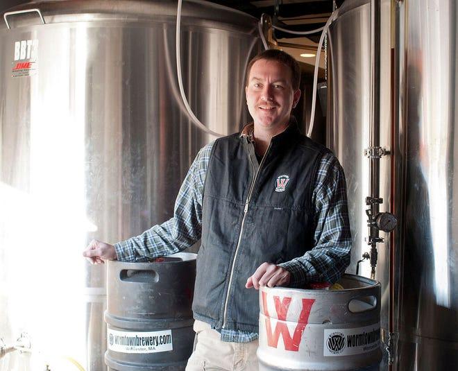 Ben Roesch is brewer at Wormtown Brewery in Worcester.