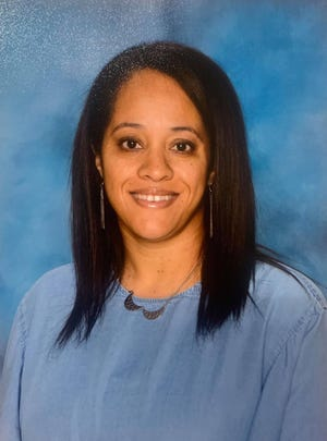 Alena Smith is a second-grade teacher at Adena Elementary School. She became an educator after leaving a near-decade-long career in accounting.