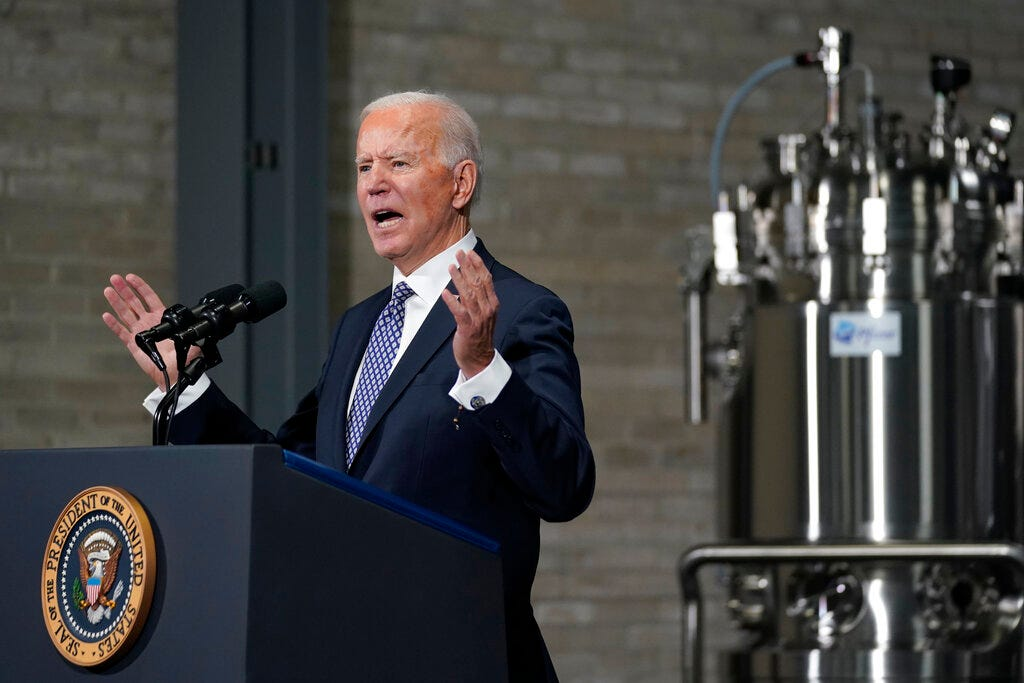 Biden picks up where Trump left off in hard-line stances at WTO 2