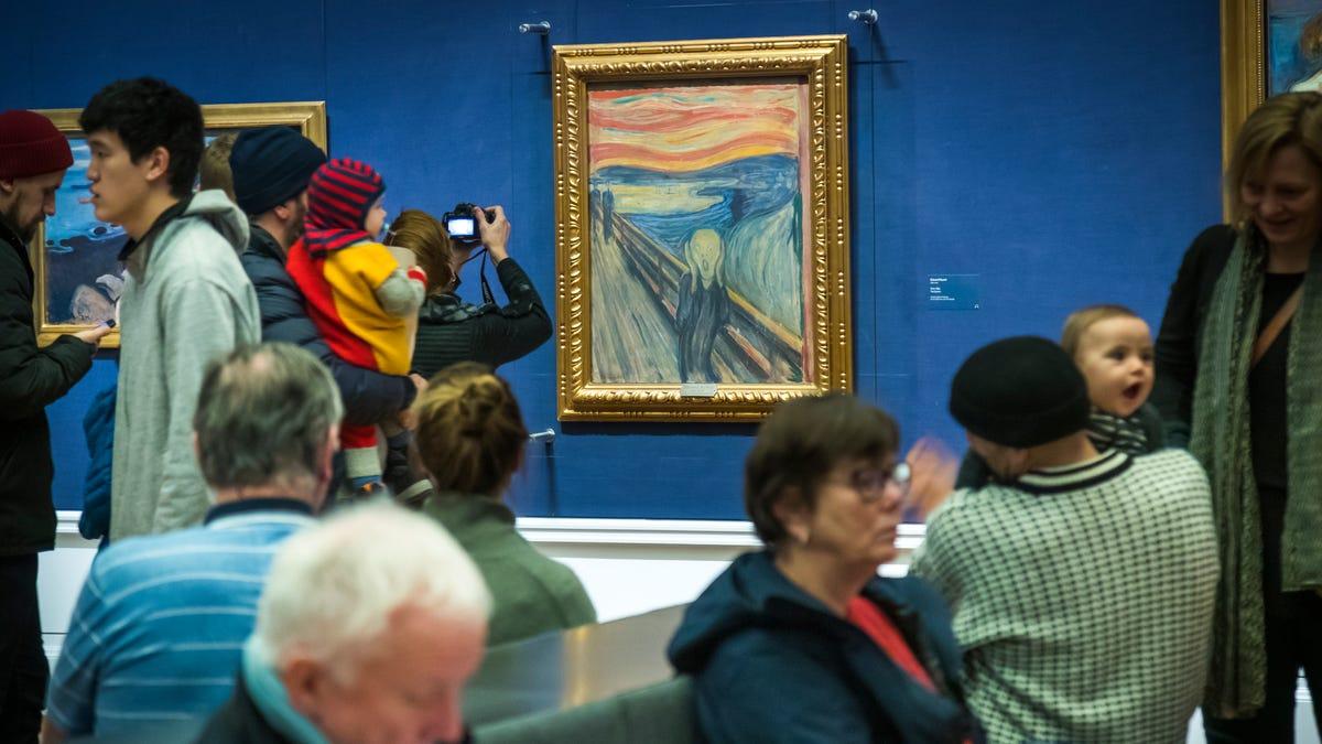 Norway museum: Munch wrote 'madman' sentence on 'The Scream' 3
