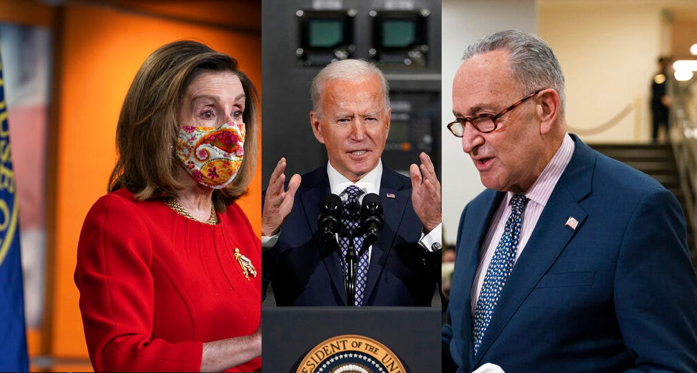 Big factor in COVID votes: Would Dems sink first Biden goal? 2