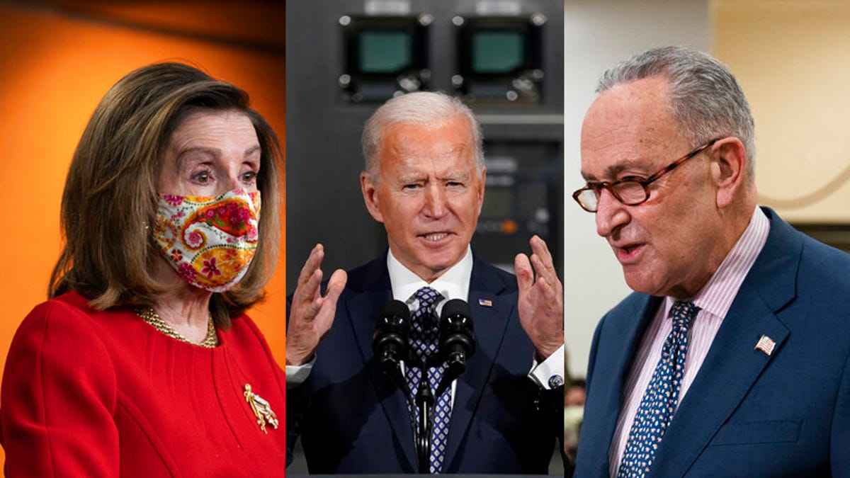 Big factor in COVID votes: Would Dems sink first Biden goal? 3