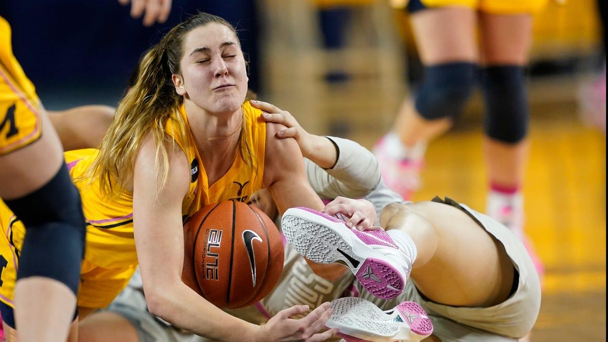 Sunday's college basketball: No. 11 Michigan women beat No. 15 Ohio State 75-66 2
