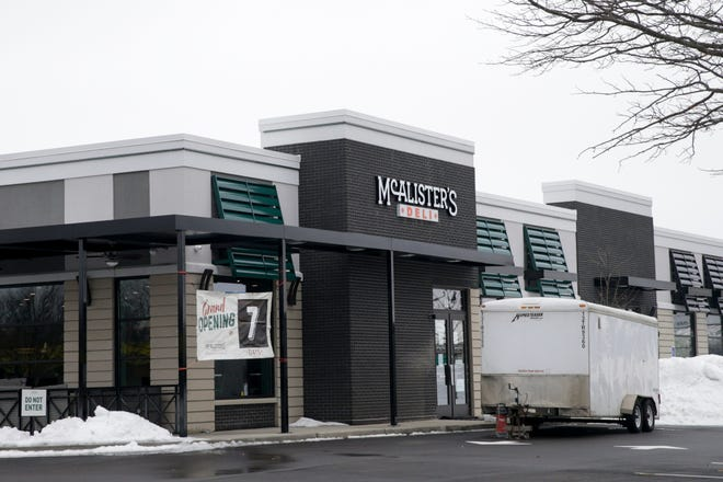 McAlister's Deli, 521 Sagamore Parkway West, Monday, Feb. 22, 2021 in West Lafayette.