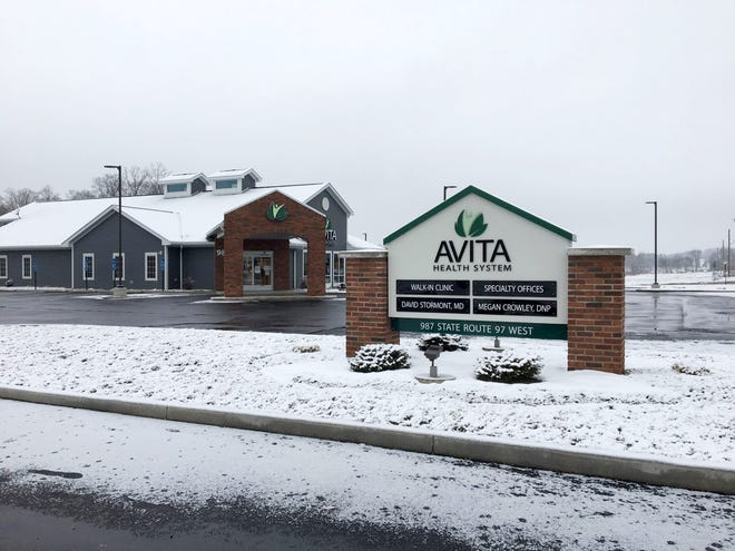 The Avita Health System walk-in clinic in Bellville.